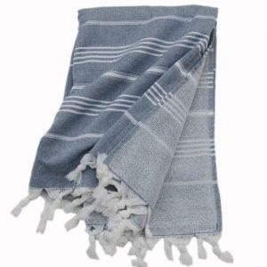 Grå hamam handdukar Pacific