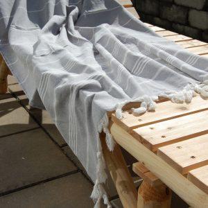 Pacific Grey hamam handduk