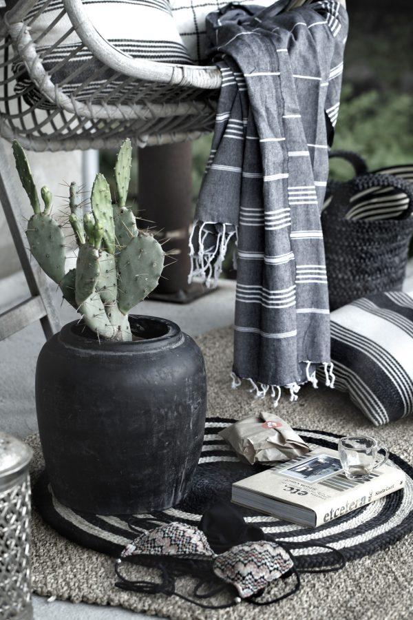 Fin bild med hamamhanddukar och sommar