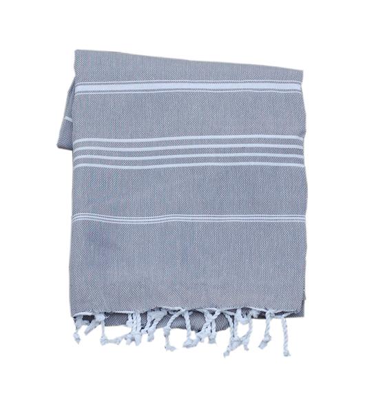 Basic grå handduk