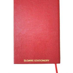 Anteckningsbok från sloane stationary