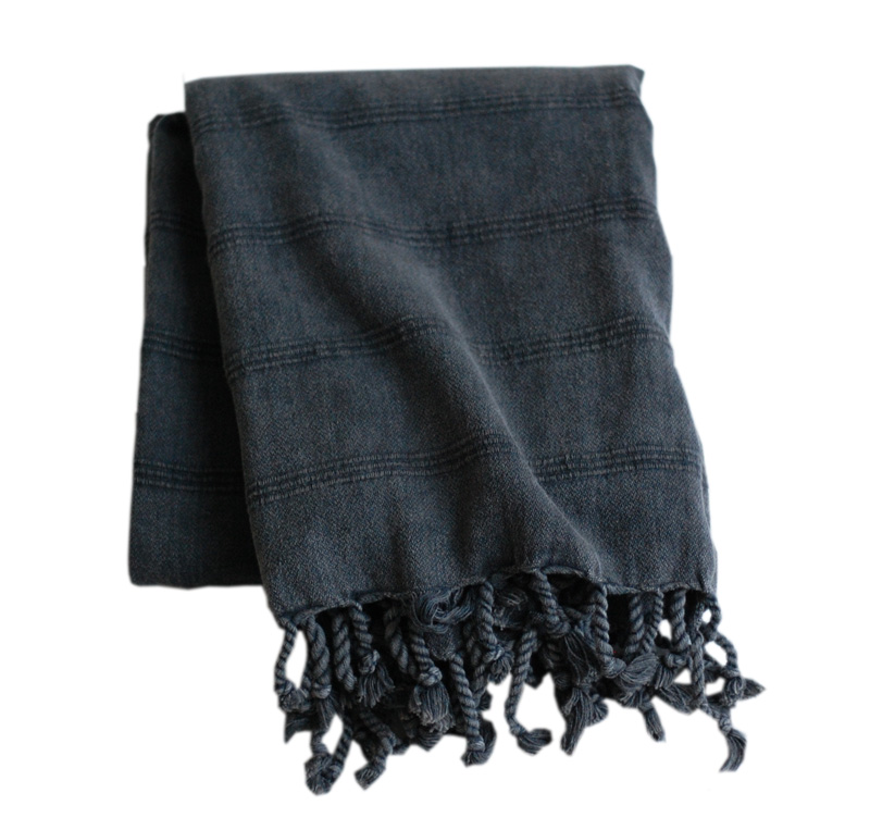 Dusty grå hamamhandduk
