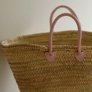 Handgjord korg från marocko