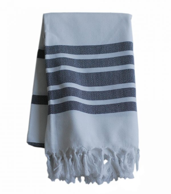 Palermo svart handduk