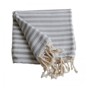 Tulum grå handduk