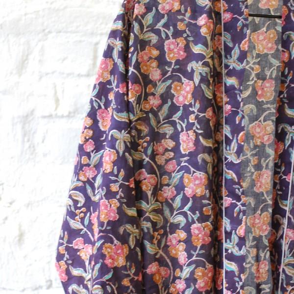 vintage mönster kimono