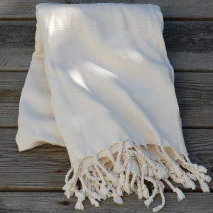 Hamamhandduk Dusty white