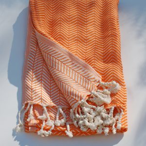 Pläd Monochrome orange