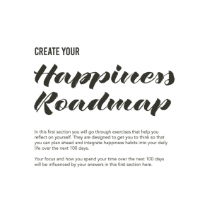 100d reflections from happiness planner