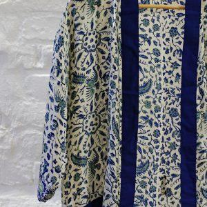 Blå kimono zoom