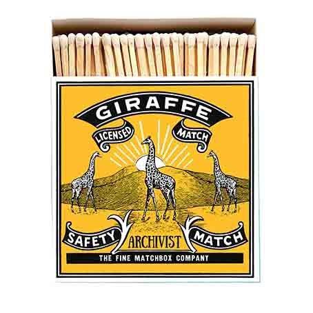 Giraffe tändsticksask