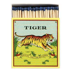 Tiger tändsticksask