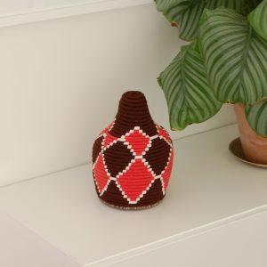 svartröd Marockansk korg