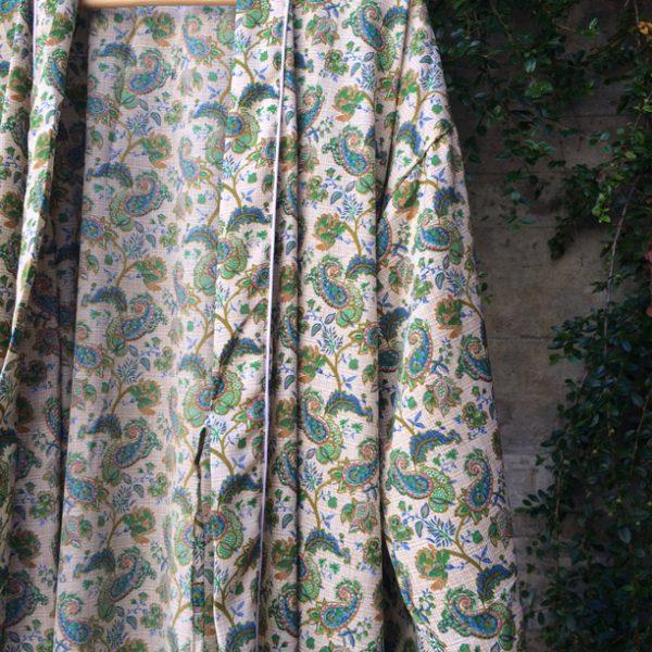 Grön kimono