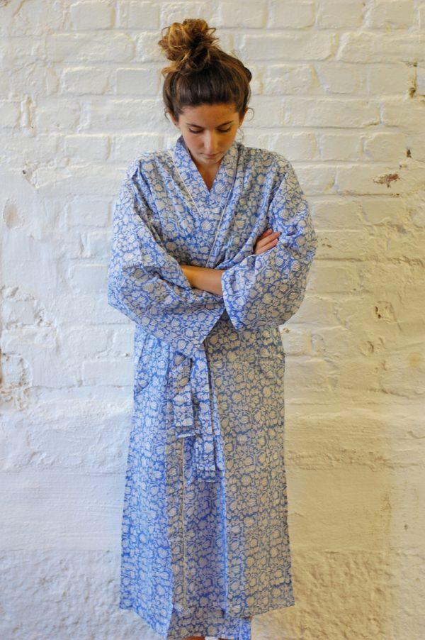 Lightblue Kimono