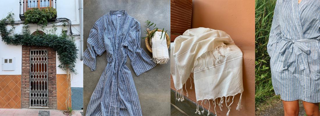 kimono hamamhandduk