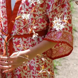 siden kimono